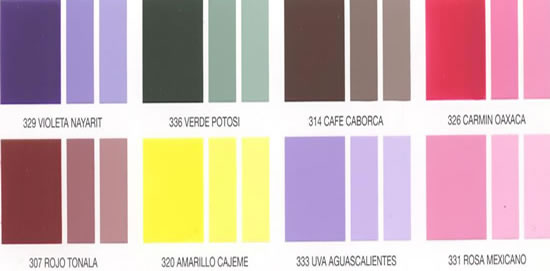 Pinturas vinil acrilicas interiores y exteriores coleman - Pintura para exteriores precios ...